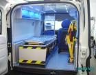 Fiat Doblo Maxi - Widok przedziału medycznego